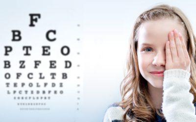 Součástí ordinace je oční optika